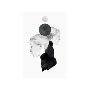 Anna Bülow Black Marble Juliste 30x40 Cm