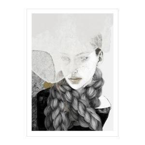 Anna Bülow Braids Juliste 50x70 Cm