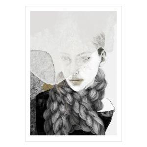 Anna Bülow Braids Juliste 70x100 Cm