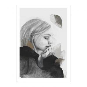 Anna Bülow Dreamer In Black Juliste 50x70 Cm