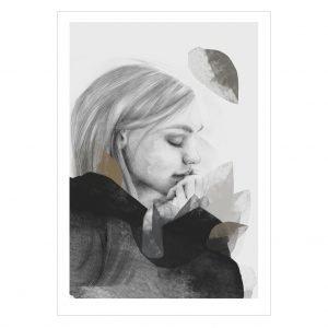 Anna Bülow Dreamer In Black Juliste 70x100 Cm