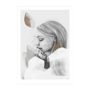 Anna Bülow Dreamer In White Juliste 30x40 Cm