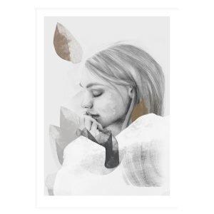 Anna Bülow Dreamer In White Juliste 70x100 Cm