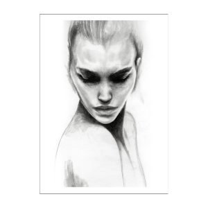 Anna Bülow Face 1 Juliste 30x40 Cm
