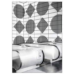 Annaleena London Geometric Poster Juliste