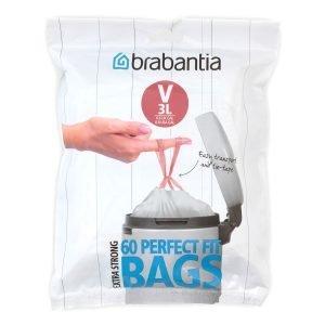 Brabantia Perfectfit Jätepussi V 3l 40 Kpl