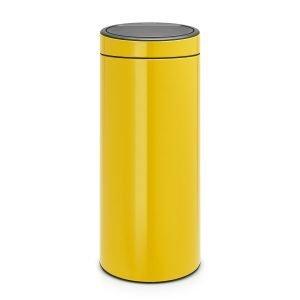 Brabantia Touch Bin Roskakori 30l Daisy Yellow