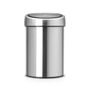 Brabantia Touch Bin Roskakori 3l Matt Steel Fpp