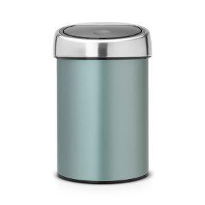 Brabantia Touch Bin Roskakori 3l Metallic Mint