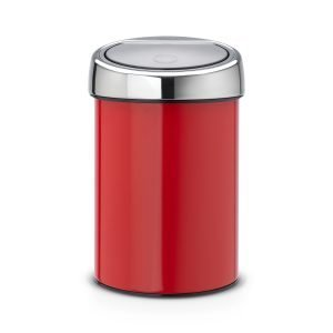 Brabantia Touch Bin Roskakori 3l Passion Red