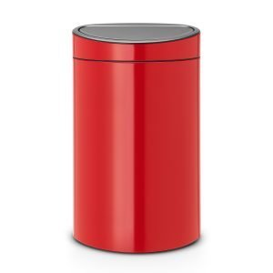 Brabantia Touch Bin Roskakori 40l Passion Red