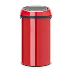 Brabantia Touch Bin Roskakori 60l Passion Red