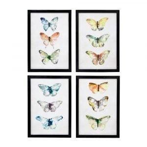 Broste Copenhagen Butterflies Taulun Setti 4-Pakkaus