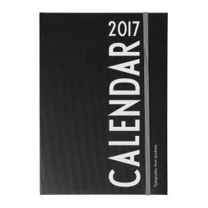 Design Letters A5 Kalenteri 2017