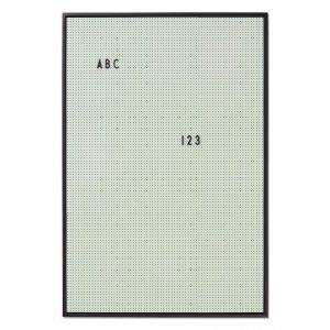Design Letters Ilmoitustaulu A2 Minttu