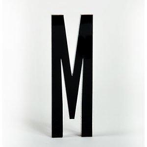 Design Letters Kirjain Akryyli M