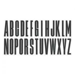 Design Letters Kirjain Akryyli R