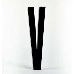 Design Letters Kirjain Akryyli V