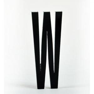 Design Letters Kirjain Akryyli W