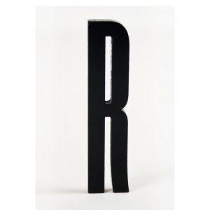 Design Letters Kirjain Puuta R