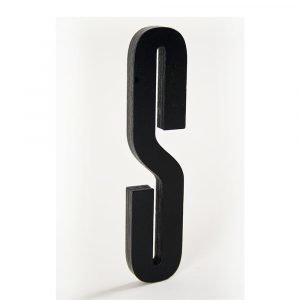 Design Letters Kirjain Puuta S