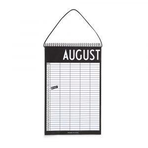 Design Letters Monthly Planner Muistiinpanokirja