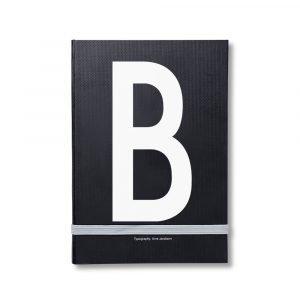 Design Letters Muistiinpanokirja Kirjain B