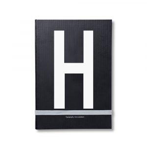 Design Letters Muistiinpanokirja Kirjain H