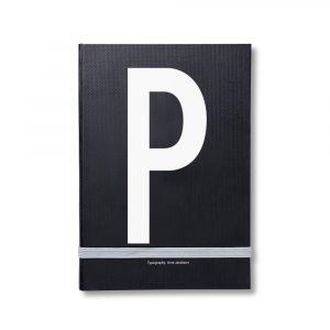 Design Letters Muistiinpanokirja Kirjain P