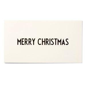 Design Letters Onnittelukortti Merry Christmas
