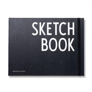 Design Letters Sketchbook Muistiinpanokirja