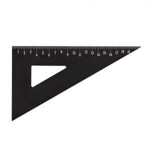 Design Letters Viivoitin Musta 21 Cm