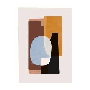 Ferm Living Abstraction 1 Juliste 50x70 Cm