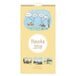 Hauska 2018 Perhekalenteri