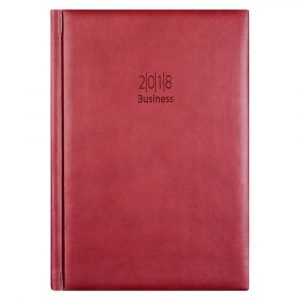 Kalenteri Business 2018 Punainen