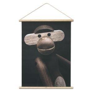 Kay Bojesen Monkey Photo Portrait Juliste 40x56 Cm