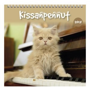 Kissanpennut 2018 Seinäkalenteri