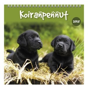 Koiranpennut 2018 Seinäkalenteri