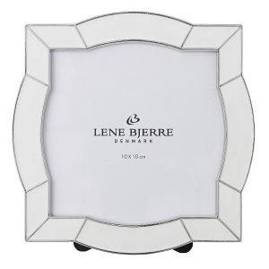 Lene Bjerre Ariella Kehys Valkoinen / Hopea 10x10 Cm