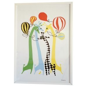 Littlephant Giraffes Graphic Print Printti 50x70 Cm