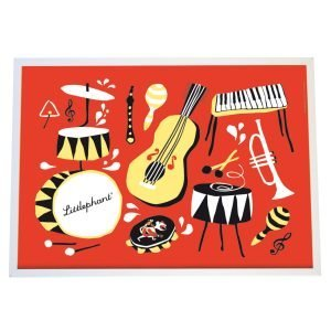Littlephant Music Graphic Print Printti 30x40 Cm