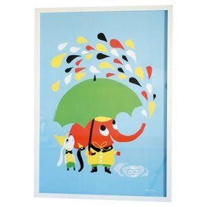 Littlephant Rain Graphic Print Printti 50x70 Cm