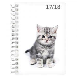 Lukuvuosikalenteri 17/18 Compact Pets 18kk