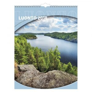 Luonto 2018 Seinäkalenteri