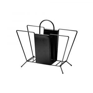 Maze Suitcase Lehtiteline Musta 37x460x210 Cm