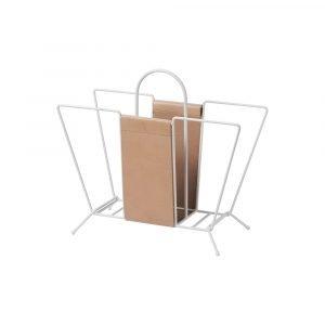 Maze Suitcase Lehtiteline Valkoinen