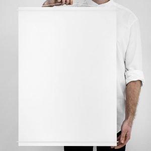 Moebe Julisteripustin 50x70 Valkoinen