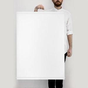 Moebe Julisteripustin 70x100 Valkoinen