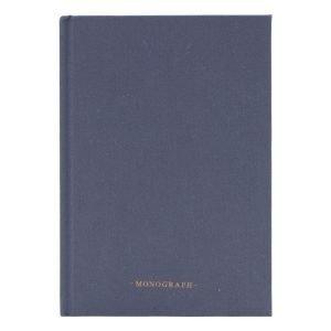 Monograph Ruled Muistiinpanokirja 80 Sivut Harmaa