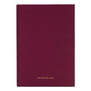Monograph Ruled Muistiinpanokirja 80 Sivut Nude